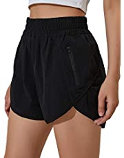 Blooming Jelly Womens Running Shorts Athletic Workout High Waisted Quick Dry Gvm Shorts with Pocket