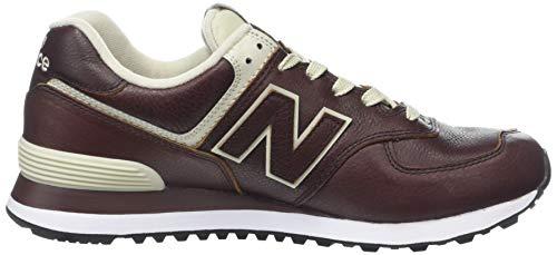 New Deep Balance Sneaker White Munsell Herren Mahogany Rot 574v2 Lpb prXpq