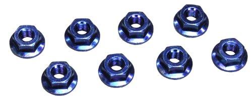 Kyosho 1-N4045F-B Nut(M4X4.5mm) Flanged Steel Blue KYO1-N4045F-B