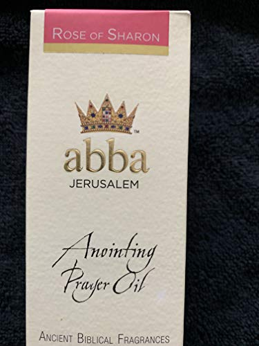 - Anointing Oil-Rose of Sharon-2 oz