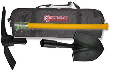 BILLET4X4 U.S. Made Mag-Lok Offroader's Long-Handle Vehicle Extraction Shovel & Pick Axe w/Storage/Carry Bag by BILLET4X4 (Image #5)