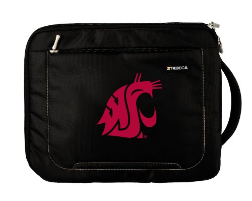 NCAA Washington State Cougars Deluxe Nylon Sleeve for Apple iPad by Tribeca Gear