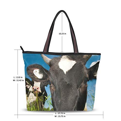 para Image hombro poliéster al Large Bolso 123 de mujer XiangHeFu 4OgX0qX