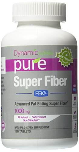 SUPER FIBER with FBCX Revolutionary New Patented WEIGHT LOSS Fiber Product Just released to Lose Weight that binds to and Eliminates up to 9 times its weight in fat and reduces calorie absorption by up to 500 fat calories a day, Better than Garcinia Cambo