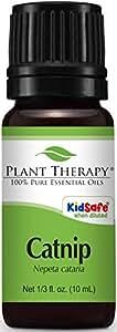 Plant Therapy Catnip Essential Oil. 100% Pure, Undiluted, Therapeutic Grade. 10 ml (1/3 oz).