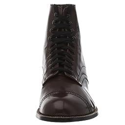 Stacy Adams Men\'s Madison Cap Toe Boot,Brown,13 EE