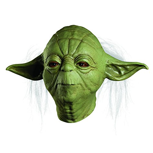 Star Wars Yoda Deluxe Overhead Latex Costume Mask