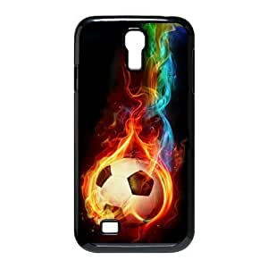 DIY Phone Case for SamSung Galaxy S4 I9500, Fire Soccer Ball Cover Case - HL-R660840
