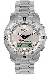 Tissot Men's T33158871 T-Touch Stainless Steel Watch