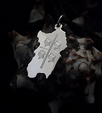 Sterling Silver Four Moors Pendant