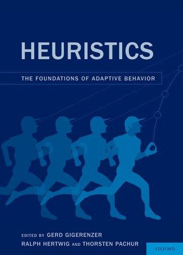 Heuristics: The Foundations of Adaptive Behavior