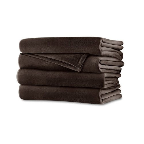 Sunbeam RoyalMink Electric Heated Blanket Full Size Chocolate (Sunbeam Royal compare prices)
