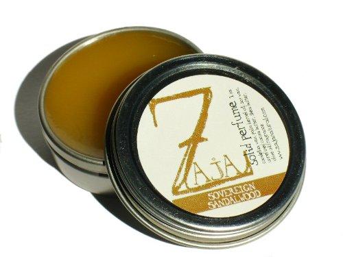 Sandalwood Solid Perfume (Sovereign Sandalwood Solid Perfume by ZAJA Natural - 1 oz)