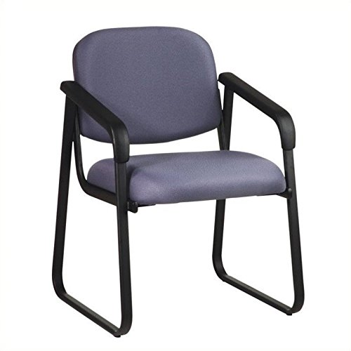 Office Star V4410-295 Deluxe Sled Base Arm Chair Guest