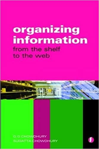 Organizing Information From the Shelf to the Web