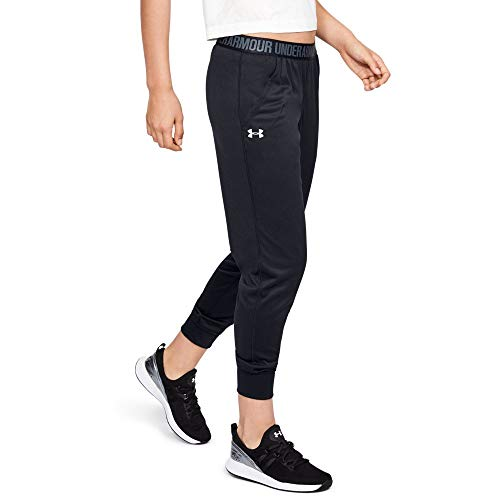 Under Armour Play Up Pants - Solid, Black//Metallic Silver, -