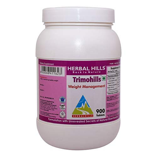 Herbal Hills Trimohills – Weight Loss Formula 900 Tablets
