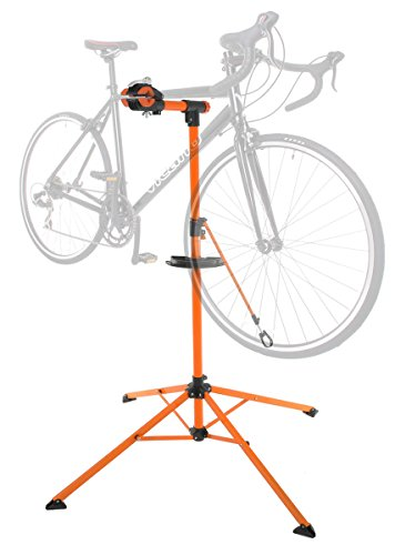 (Conquer Portable Home Bike Repair Stand Adjustable Height Bicycle Stand)