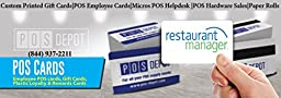 Restaurant Manager Pro (RMPOS) POS Server Swipe Employee ID Cards - 25 Cards- Pre-Porgrammed To Work With The RMPOS POS System ! - Lowest Card Prices on Amazon