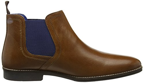 Blue Marron Stockwood Leather Tape Tan Homme Boots Red Chelsea Uqw8x7