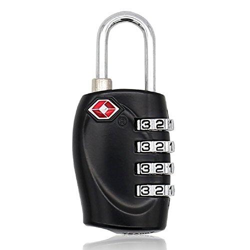 mioni TSA Luggage Locks with 4 Digit Combination – Heavy D