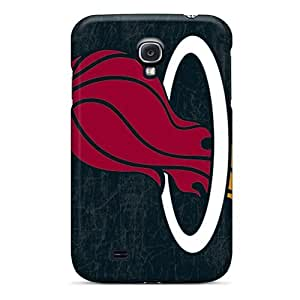 Scratch Resistant Hard Phone Cases For Samsung Galaxy S4 With Customized Beautiful Miami Heat Pictures PhilHolmes