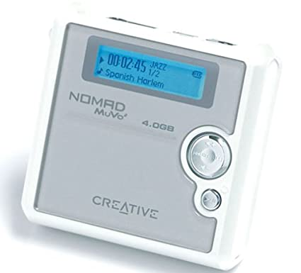 CREATIVE NOMAD MUVO2 4GB DRIVERS FOR WINDOWS DOWNLOAD