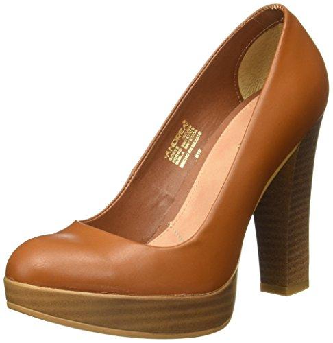 Para Vwpwh Tacón De Zapatos Café 2409320 Andrea Mujer TlKJF1c