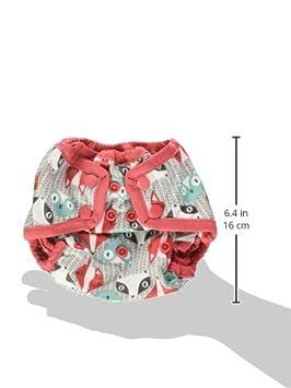 Invader Rumparooz Newborn Cloth Diaper Cover Snap