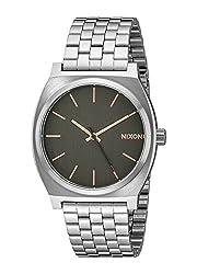 Nixon Men's A0452064 Time Teller Quartz Watch with Analog Display