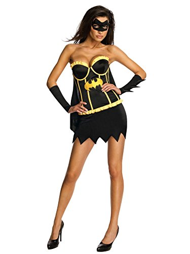 Rubie's Costume Co Secret Wishes Womens DC Comics Batgirl Corset Costume, Black, Medium]()