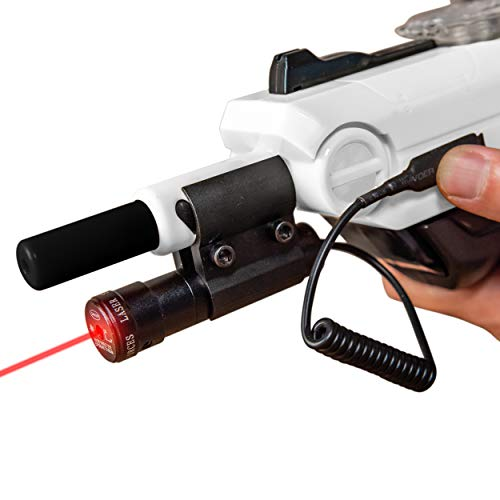 Cosy Meadow Sniper Laser Sight Beam with Pressure Switch | for Bug & A Fly Salt Gun 2.0 | Tactical Scope Fits Lawn Asalt & All Versions of Insect Assault Shotgun | Airsoft BB Pump Shooter Rifles