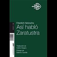 Así hablo Zaratustra (Nueva Biblioteca EDAF) (Spanish Edition)