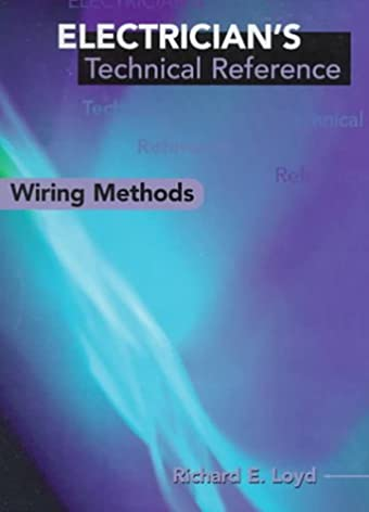 electrician s technical reference wiring methods electricians s rh amazon com