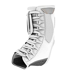 Shock Doctor Ultra Gel Lace Ankle Brace Supporter, White, x- Small