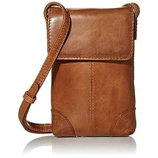 Frye Melissa Lanyard Phone Wallet Crossbody Bag, Beige
