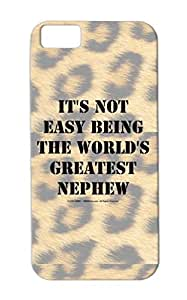 TPU Black Not The Its Funny Miscellaneous Nephew Greatest Easy Worlds Being Nephew Case Cover For Iphone 5c