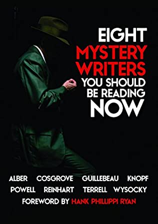 book cover of Eight Mystery Writers You Should be Reading Now