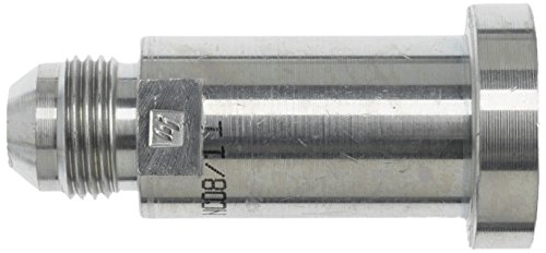 Clear Zinc JIC Flare by Code 62 Flange Brennan Industries 1800-16-20 1800 Series Carbon Steel Straight Hydraulic Adapter