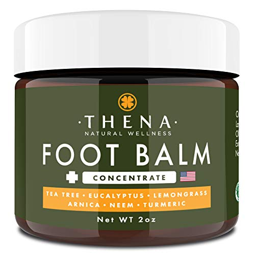 Tea Tree Oil Antifungal Cream Extra Strength, Athletes Foot Balm Dry Skin Cracked Feet  Heel Jock Itch Relief Toenail Fungus Treatment Callus Ringworm For Humans, Best Natural Anti Fungal Foot Care in USA