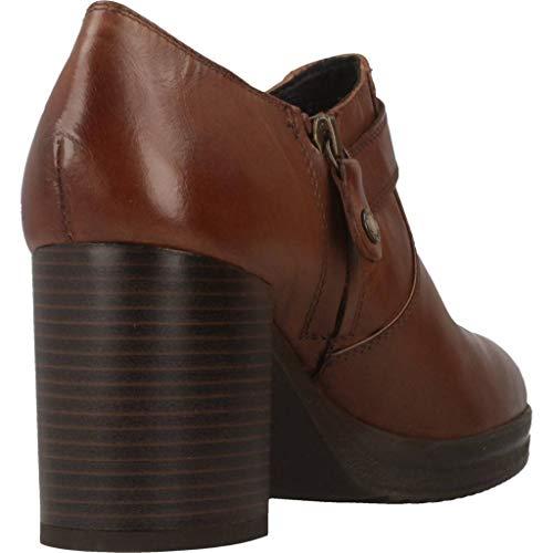 Marrón Para Zapatos Mujer Brown D Remigia Tacón De Geox Tzxwxq C C0013 OkiPXuTZ