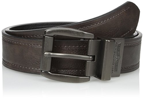 Satin Belt Reversible - Levi's Men's 1 9/16-Inch Brown To Black Reversible Belt,Brown/Black,32