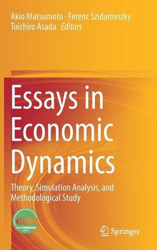 Essays in Economic Dynamics: Theory, Simulation Analysis, and Methodological Study