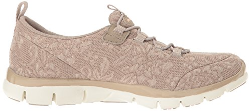 Skechers Sport Womens Gratis Lacey Fashion Sneaker Taupe