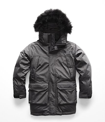 Boys Mcmurdo Down Parka - The North Face Boy's McMurdo Down Parka - TNF Medium Grey Heather - M