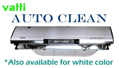 Vatti Auto Clean 6 Speeds Stainless Steel Under Cabinet 800CFM Range Hood with Auto Clean
