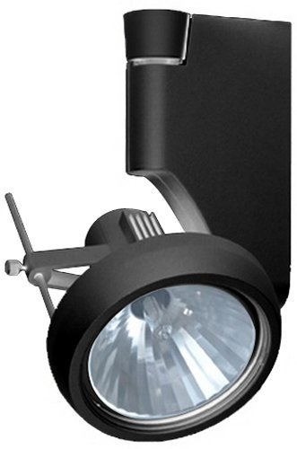 (Jesco Lighting HMH270T4NF39-B Contempo 270 Series Metal Halide Track Light Fixture, T4 24-Degree Narrow Flood, 39 Watts, Black Finish)