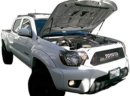 All Black Components, 4 year warranty Redline Tuning 21-27010-02 Hood QuickLIFT PLUS System Compatible for Toyota Tacoma 2005-2015