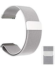 Sebay 20mm Watch Band, Metal Mesh Watch Bands, Quick Release Watch Bands, Stainless Steel Mesh Watch Strap, Watch Band for Mens Women