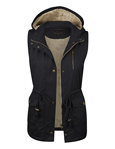 makeitmint Women's Anorak Military Utility Jacket Vest for sale  Delivered anywhere in USA